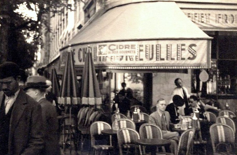 Rudi in Paris, 1938