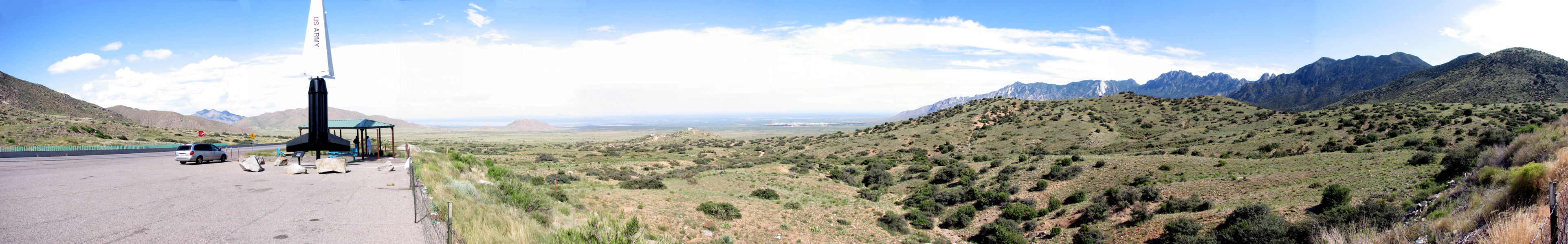 White Sands Missile Range lookout
